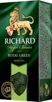 Чай Richard Royal Green 25х2 зеленый 1/12 Ричард