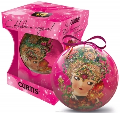 Чай Curtis She-Shy Christmas Ball 30 г ж/б 1/12 Куртис