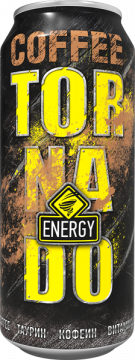 TornadoEnergy COFFEE 0,45л./12шт. Торнадо