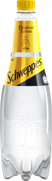 Швепс индиан тоник 1л./12шт.  Schweppes Indian Tonic