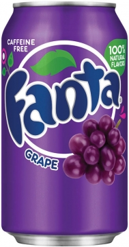 Fanta Grape 0,35л./12шт.  Фанта