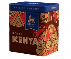Чай Richard British Colony Royal Kenya 50г. жесть 1/12