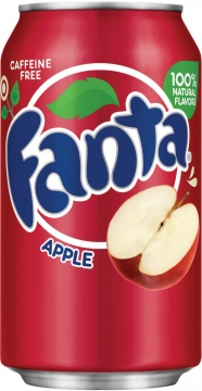 Fanta Apple 0,35л./12шт.  Фанта