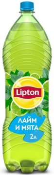 Липтон 2л. Лайм-мята 6шт. Lipton Ice Tea