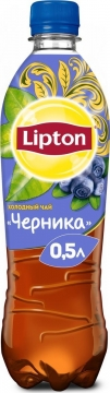 Липтон 0,5л. Черника 12шт. Lipton Ice Tea