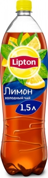 Липтон лимон 1,5л./6шт.  Lipton Ice Tea