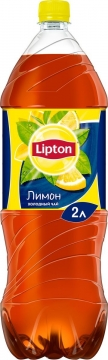 Липтон лимон 2л./6шт.  Lipton Ice Tea