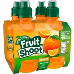 ROBINSONS FRUIT SHOOT Orange 4шт*0,2л./1шт.