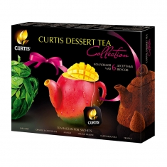 Чай Curtis Dessert Tea Collection ассорти 30*2г 1/10  Куртис