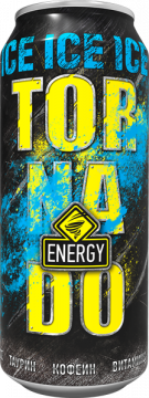 TornadoEnergy ICE 0,45л./12шт. Торнадо