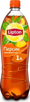 Липтон 1л. Персик 12шт. Lipton Ice Tea
