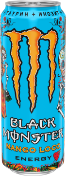 Блэк Монстр Mango Loco 0,5л./12шт. Black Monster