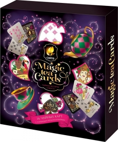Чай Curtis Magic Tea Cards ассорти 2гр./36шт.