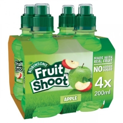 ROBINSONS FRUIT SHOOT Apple 4шт*0,2л./1шт.