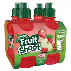 ROBINSONS FRUIT SHOOT Summer Fruits 4шт*0,2л./1шт.