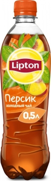 Липтон персик 0,5л./12шт.  Lipton Ice Tea