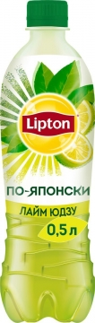 Липтон 0,5л. Лайм ЮДЗУ 12шт. Lipton Ice Tea