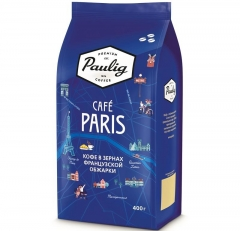 Кофе Paulig Cafe Paris 8x400г зерно