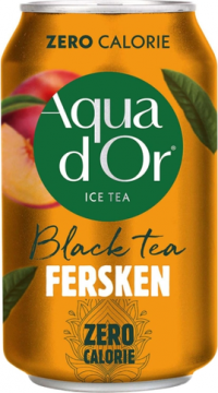 Aqua DOr Black Tea Peach 0,33л./24шт.