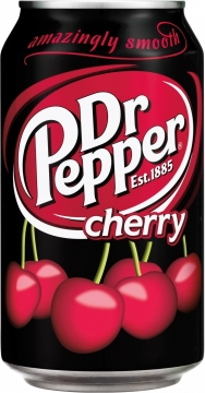 Dr. Pepper Cherry 0,355л./12шт.  Доктор Пеппер