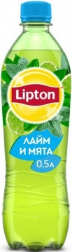 Липтон лайм-мята 0,5л./12шт.  Lipton Ice Tea