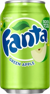 Fanta Green Apple 0,35л./12шт.  Фанта