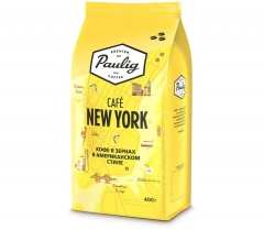 Паулиг Кофе Paulig Cafe New York 8x400г зерно